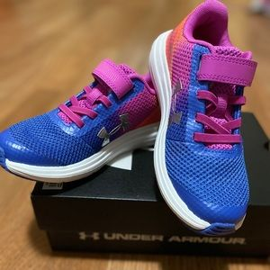 New in box Toddler Under Armour sneakers